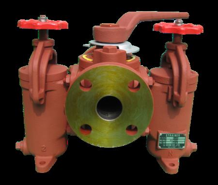 KW-2型 ストレーナ(複式)   流体制御弁の株式会社ベン